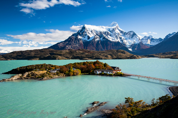 Philippe Boyer Patagonia Lago Pehoe Torres Del Paine